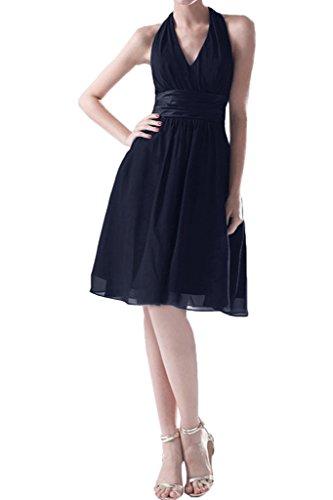 Missdressy -  Vestito  - plissettato - Donna blu navy 40