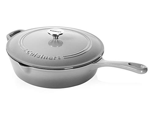 Cuisinart Cast Iron Chicken Fryer, Grey Gradient, 12