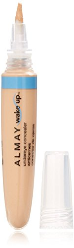Almay Wake Up Under Eye Concealer, Light/Medium 0.22 oz (Pack of 2)