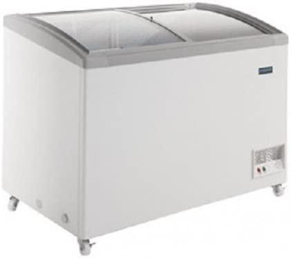 Congelador arcón con puertas de cristal, 236L: Amazon.es: Grandes ...