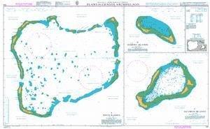 BA Chart 725: British Indian Ocean Territory, Plans in Chagos Archipelago