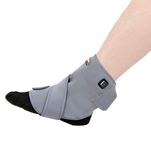 - Venture Heat Far Infrared Heated Ankle Wrap for Ankle Pain - Arthritis, Tendonitis, Sprained Ankle Therapy Pad for Pain Relief, FDA Registered