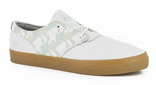 eS Skateboard Shoes ACCENT WHITE/GUM White/Gum hc9q9r