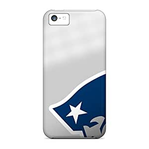 Vvicky Fashion Protective New England Patriots Case Cover For Iphone 5c