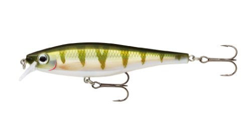 Rapala BX Minnow 10 Fishing Lure, Yellow Perch, 4-Inch