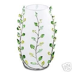afc43ad8b5b Image Unavailable. Image not available for. Color: Swarovski Leaves Vase  660733