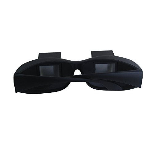 THG Horizontal Lazy Glasses High Definition Glasses Periscope Lie Down Watch Read TV Down Periscope Glasses