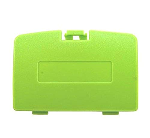 Game Boy Color Cover Battery (Replacement Battery Back Cover Case Door Lid for Gameboy Color GBC (Green)