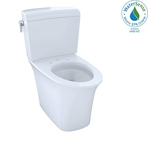 Toto CST484CEMFG#01 1.28GPF/0.9-GPF Maris Closed Coupled Toilet with SanaGloss, Cotton