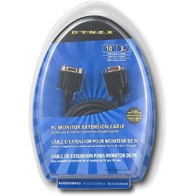 Dynex® - 10' PC Monitor Extension Cable