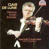 Suk / Hala : Famous Violin Encores (Clair de Lune) [RARE]