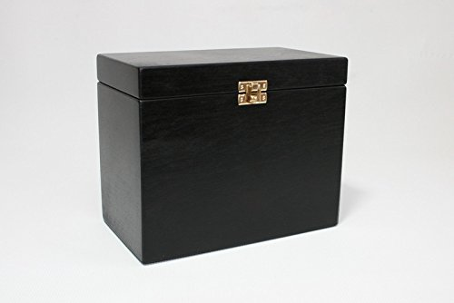 Charmant Black Wooden Box / Black Box / Storage Box / Jewelry Box / Keepsake Box /