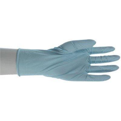 Nitril Handschuhe Einweg–LRG 5mil leicht gepudert blau Nitril 9–1/5,1cm von Boss Herstellung Company