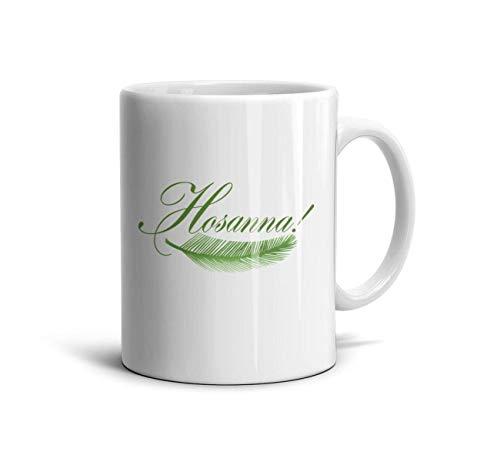 Sunday Set Palm (KDIHADGH Palm Sunday Hosanna Palm Tree White Weddings Cup Daily Use TeaMugs)