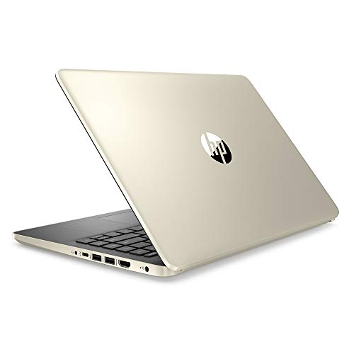 2020 Newest HP Pavilion 14 Inch Laptop (10th Gen Intel Core i3-1005G1 (Beats i5-7200U), 16GB RAM, 256GB SSD, Webcam, Windows 10 Professional) (Gold) + NexiGo Wireless Mouse Bundle