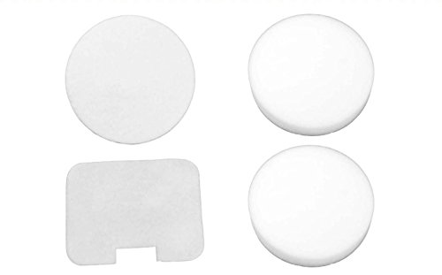 4 Shark Navigator NV22, NV36, NV42, UV400 Foam/Felt Filters - Foam And Felt Allergen Filters - High Efficiency Filters - High Quality Filters - Great Replacement Kit (Shark Navigator Nv4226 Filters compare prices)