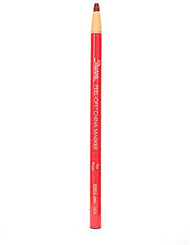 Sharpie China Marking Pencils (Red) 3 pcs sku# 1822190MA by Sharpie
