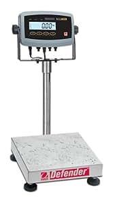 Ohaus D51P25WR3 Defender 5000 Square Semi-Washdown Scale