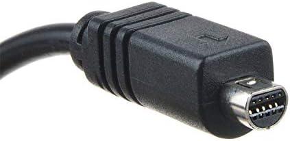 AT LCC 5ft AV A//V TV Video Cable Cord Lead for Sony Camcorder Handycam DCR-SX20 DCR-SR88//e