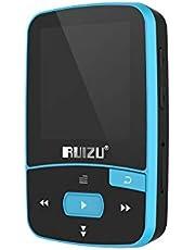 RUIZU X50 8GB 1.5in MP3 Player HiFi Lossless Sound Quality Bluetooth Pedometer TF Card FM Radio Recording E-book Time Calendar