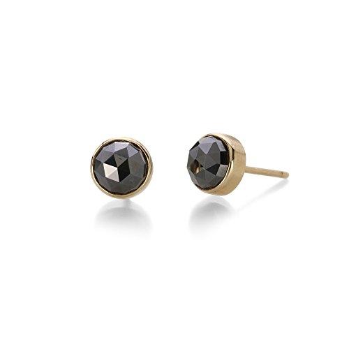 Rose cut Hematite Earrings