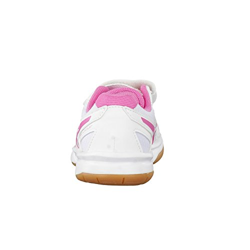 Asics Pre-Upcourt Ps, Zapatillas Deportivas para Interior Unisex Niños blanc/rose/blanc