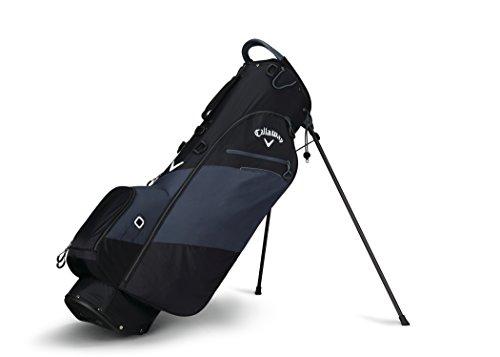 Callaway Golf 2018 Hyper Lite Zero Stand Bag, Black/ Titanium/ White, Double Strap