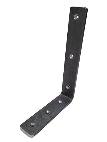 Floating Countertop Bracket - 3/8' Thick, 12' Arm