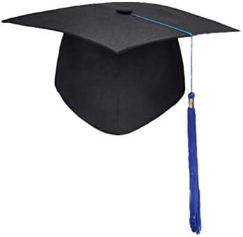 YeahiBaby Gorra negra de graduación: gorra de graduación maestra ...