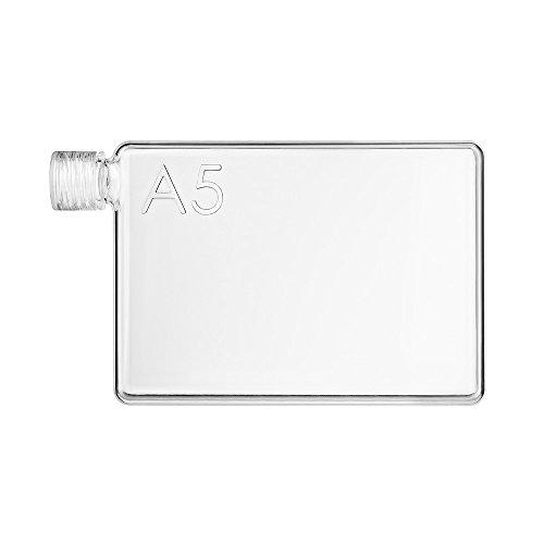 Memobottle the flat water bottle that fits in your bag | BPA-Free | Premium | Durable | Designer