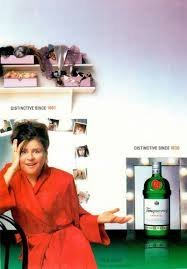 print-ad-with-tracey-ullman-for-2003-tanqueray-gin-print-ad