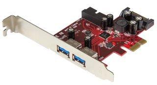 StarTech.com PEXUSB3S2EI - Adaptador Tarjeta PCI Express, 2 Puertos USB 3.0 externos, 1 internos con alimentación SATA