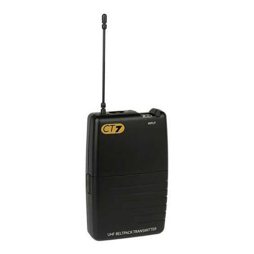 Samson CT7 Beltpack Transmitter - RF Frequency Range N4 - 644.750 MHz by Samson Technologies