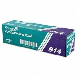 (Reynolds Wrap 914 PVC Film Roll w/Cutter Box, 18