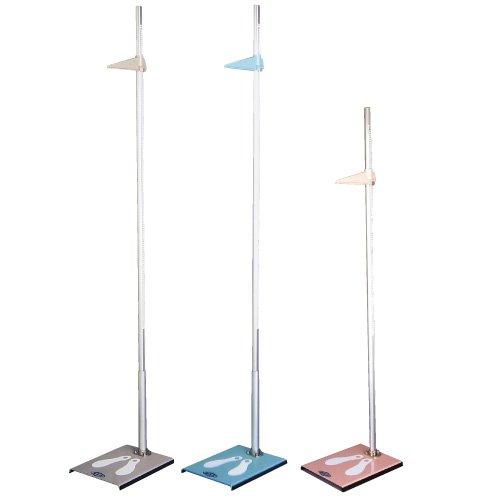 身長計(金属製) HP(2M) () ピンク(02-3520-00-03)【ツツミ】[1台単位] B01KDPIRG0
