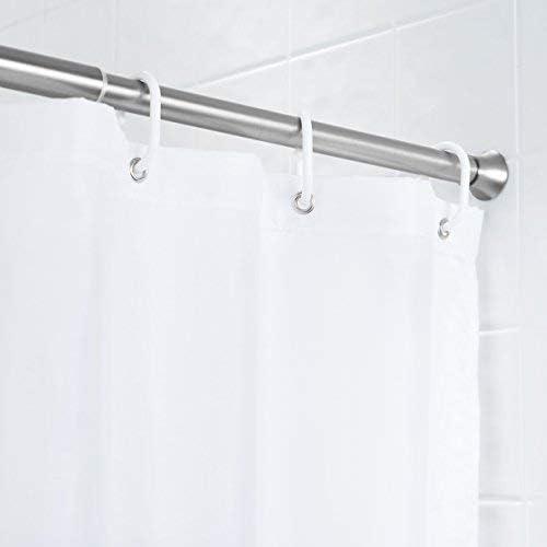 lunghezza regolabile 60,9-91,4 cm Bastone per tenda da doccia e da porta Basics nero