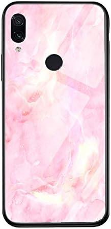 Oihxse beschermhoes kleurrijk kleurverloop compatibel met Xiaomi Mi Mix 2S bescherming aan de achterkant 9H gehard glas bescherming schattig siliconen krasbestendig 500 AM