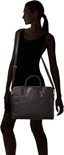 Fossil Emma - Bolsos maletín Mujer Negro (Black)