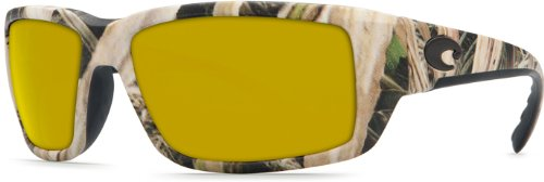 Costa Del Mar Fantail Sunglasses, Mossy Oak Shadow Grass Blades Camo, Sunrise 580 Plastic - Oak Eyewear