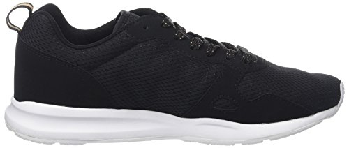 free shipping from china Le Coq Sportif Women's LCS R600 W Metallic Mesh/S Nubuck Trainers Black (Black/Rose Gold Noir) discount low price sale best seller quality free shipping for sale vkAcnhVjl