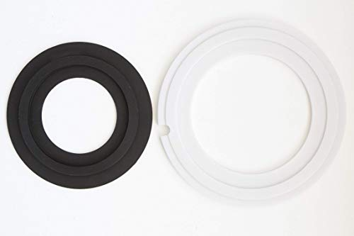 Replacement for Dometic 385311462, 385310677 Improved RV toilet seal kit   (Without overflow holes)