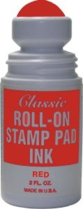 Roll-on Stamp Pad Ink - Red Specialty Ink Co. Inc.