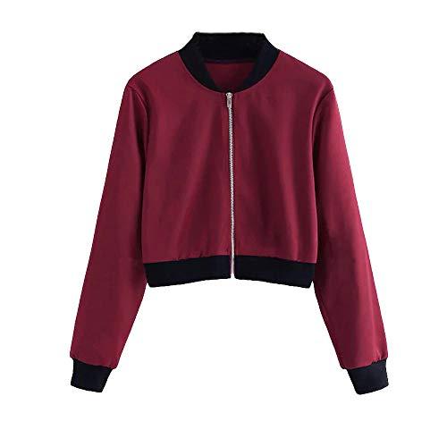 elegante alla moda da corto di cappottino dei di sera breve cerimonia di moda da donna Darringl cappotti sezione Giacca di Vino q1dnERPq