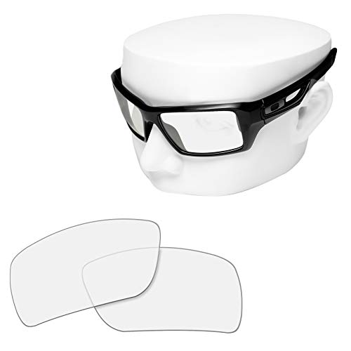 OOWLIT Replacement Sunglass Lenses for Oakley Eyepatch 2 HD Clear Non-polarized -