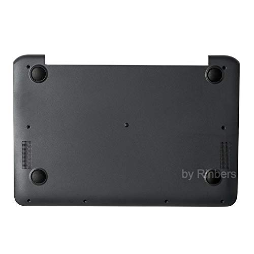Hewlett Packard Rubber Foot - Rinbers Laptop Lower Bottom Case Base Cover Enclosure Without Rubber Feet for HP Chromebook 11 G5 901284-001 (Not for 11 G5 EE)