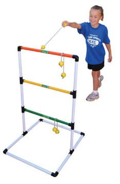 The Zone Ladder Golf Set - Includes 2 Goals and 6 Bolos