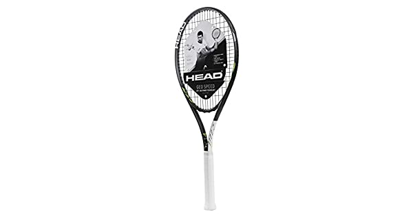 Amazon.com: Head Geo Speed - Raqueta de tenis (preajustada ...