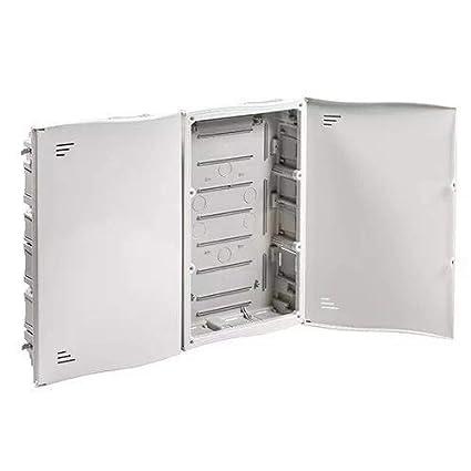 IDE RTR50608PLAS IP33 Registro de Terminación de Red Empotrar Plástico, Blanco, 525mm x 665mm x 103mm: Amazon.es: Industria, empresas y ciencia
