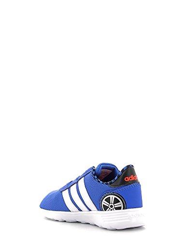 Adidas Lite Racer Inf–Chaussures deportivaspara enfants, bleu–(Bleu/Ftwbla/rojsol), 21