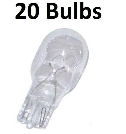 Reliable 20 Landscape Bulbs for Philips 415828 11-Watt T5 12-Volt Wedge Base Fast Arrive